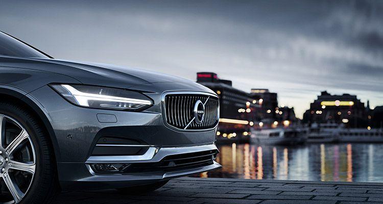 Экстерьер Volvo S90 2019-2020