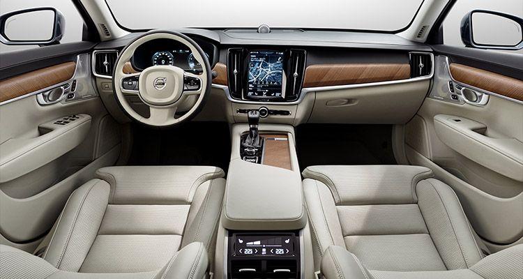 Интерьер Volvo S90 2019-2020